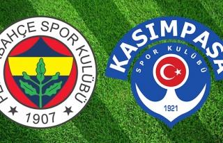 CANLI İZLE: Fenerbahçe Kasımpaşa | FB Kasımpaşa...
