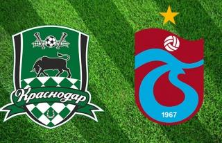 CANLI İZLE: Krasnodar Trabzonspor | Krasnodar TS...