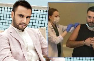 Canlı yayında aşı olan Alişan tepki çekti