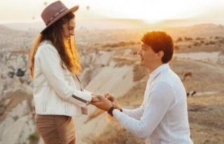 Cedi Osman, Ebru Şahin'e evlenme teklifi etti