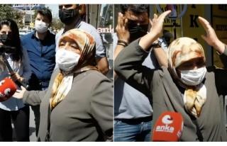 CHP Heyetinin Ziyaret Ettiği Erzurum'da Bir Teyze...