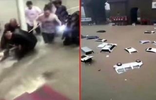 Çin'den 12 Kişinin Hayatını Kaybettiği Sel Felaketinden...