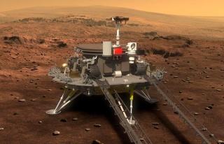 Çin'in Keşif Aracı 'Zhurong' Kızıl Gezegen'e...