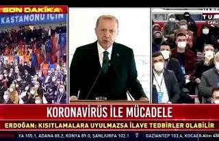 Cumhurbaşkanı Erdoğan Bir Kez Daha Prompter Cihazının...