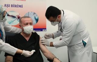 Cumhurbaşkanı Erdoğan da Koronavirüs Aşısı...