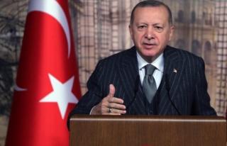 Cumhurbaşkanı Erdoğan'dan salgının seyriyle ilgili...