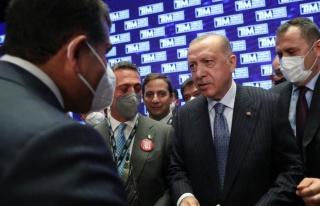 Cumhurbaşkanı Erdoğan, ihracat şampiyonu firmayı...