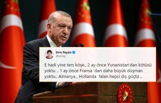 Cumhurbaşkanı Erdoğan'ın 'Kendimizi Avrupa'da...