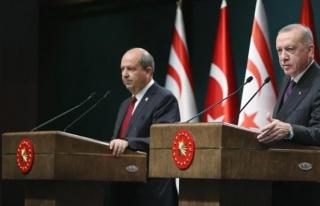 Cumhurbaşkanı Erdoğan'ın Kıbrıs'ta yapacağı...