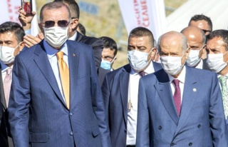 Cumhurbaşkanı Erdoğan ve Devlet Bahçeli KKTC'de!...