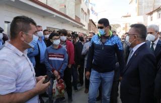 Cumhurbaşkanı Yardımcısı Oktay, Yozgat'ta esnafı...