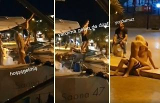 Datça'ya Demirleyen Yattaki Turistlerin Esrarengiz...