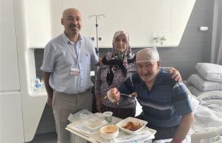 Delirten hastalıktan kurtulduktan sonra ilk iş yemek...