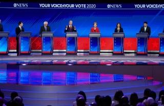 Demokrat adaylar canlı yayında 3. kez kozlarını...