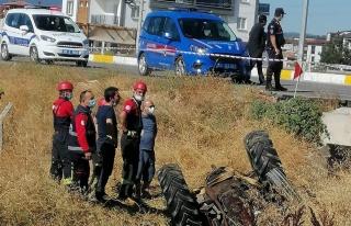 Denizli'de traktörün altında kalan kişi öldü