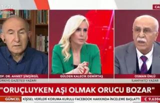 Diyanet'in 'Aşı Orucu Bozmaz' Açıklamasına İlahiyatçılardan...