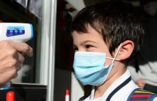 DSÖ'den 12 yaşından büyük çocuklara maske...