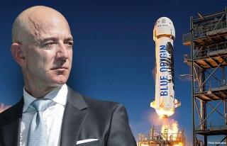 Dünyanın En Zengini Jeff Bezos, Uzaya Çıktığı...