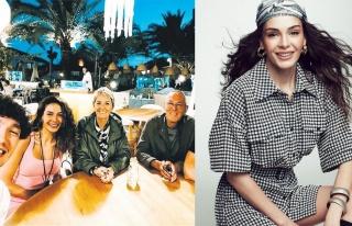 Ebru Şahin, Cedi Osman'ın ailesiyle tanıştı