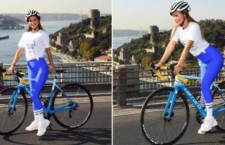 Ebru Şallı, Avrupa'dan Asya'ya bisiklet sürerek...