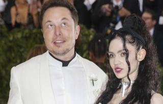 Elon Musk bebeğinin annesi Grimes ile ayrıldı