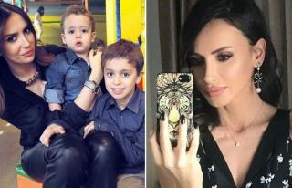 Emina Jahovic oğullarıyla birlikte Corona virüse...