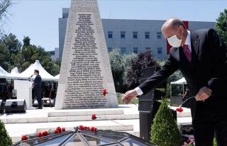 Erdoğan 15 Temmuz Anmasında: 'Hiç Kimsenin Bu Şanlı...