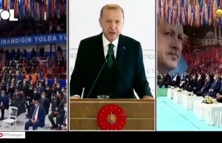 Erdoğan'dan Kendisini Dinleyen Kalabalığa Tepki:...