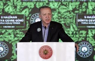Erdoğan: 'Denizlerimizi Müsilaj Belasından Kurtaracağız'