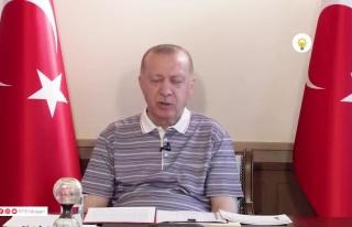 Erdoğan'ın Bayramlaşma Videosundaki Saniyelik Uykusu...