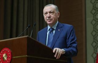 Erdoğan Mesajını Dolaylı Yoldan Verdi: 'Mili Andımız...