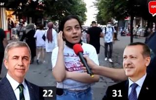 'Erdoğan mı Mansur Yavaş mı?' Sorusuna 'Erdoğan...