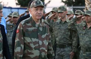 Erdoğan: 'Rabbime Böyle Bir Ordunun Başkomutanı...