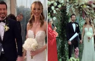 Ersin Düzen ve Seyhan Şaşko evlendi