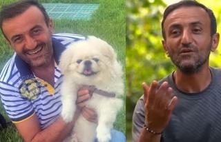 Ersin Korkut yeni köpeğine ivedi alıştı