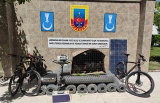 Erzincan'da hırsızlık yaptıkları iddia edilen...