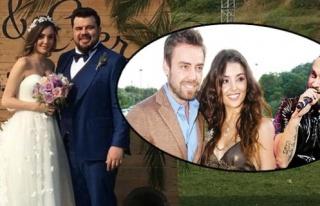Eser Yenenler'in düğününde Dalkılıç-Berkay...