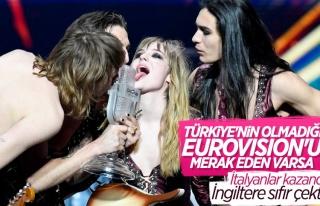 Eurovision'un kazananı İtalya oldu