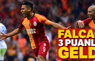 Falcao 3 puanla geldi! Maç sonucu: Galatasaray 1...