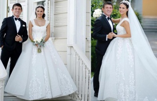 Fatoş Kabasakal ve Erkan Kayhan çifti düğünlerini...