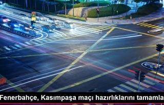 Fenerbahçe, Kasımpaşa maçı hazırlıklarını...