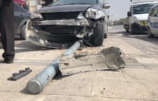 Fren Yerine Gaza Basan Sürücü Önce Trafik Işığını...