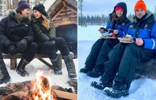 Gacemer çifti Finlandiya'da aşk tazeledi