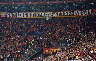 Galatasaray-Real Madrid maçını 49 bin 528 taraftar...