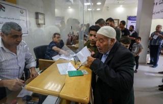 Gazzeli 100 bin aile 100 dolarlık yardımlarını...