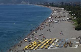 Geçen yılın Haziran ayına göre turizmde yüzde...