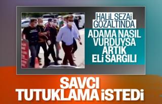 Halil Sezai polisler eşliğinde adliyeye getirildi