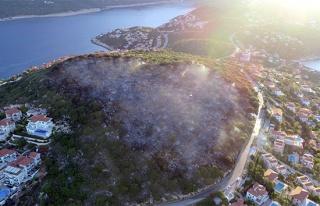Haluk Levent'den Kaş yangını paylaşımı