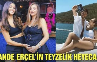 Hande Erçel'in teyzelik heyecanı