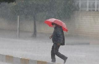 Hava Sıcaklıkları Düşecek, Sağanak Yağış...